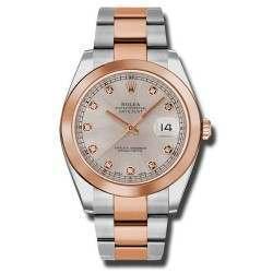 Rolex Datejust II Sundust/ Diamond Oyster 126301