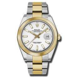 Rolex Datejust 41 White/ Index Oyster 126303