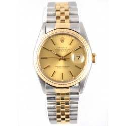 Rolex DateJust  Steel & Gold 16233