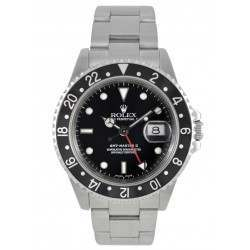 Rolex GMT-Master II Black Bezel 16710