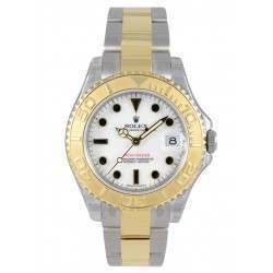 Rolex Yacht-Master 35mm Steel & Gold White/index Oyster 168623