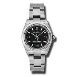 Rolex Oyster Perpetual 31mm Black Arab Pink index Oyster 177200