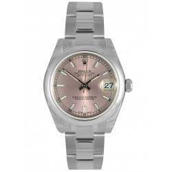 Rolex Lady Datejust 31mm Pink/index Oyster 178240