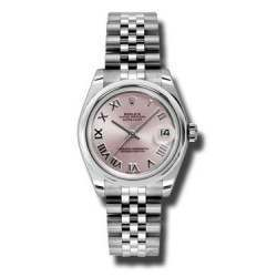 Rolex Lady Datejust 31mm Pink Roman Jubilee 178240