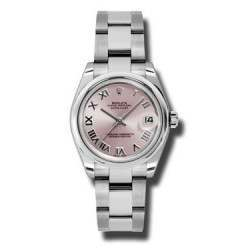Rolex Lady Datejust 31mm Pink Roman Oyster 178240