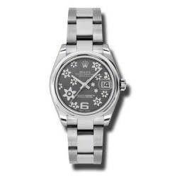 |superceded| Rolex Unisex - 178240 (Flower Dial, Oyster Bracelet)