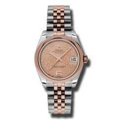 Rolex Lady Datejust 31mm Pink/Arab 6 Jubilee 178241