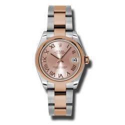 Rolex Lady Datejust 31mm Pink Roman Oyster 178241