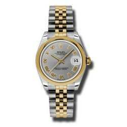 Rolex Lady Datejust 31mm Steel Roman Jubilee 178243