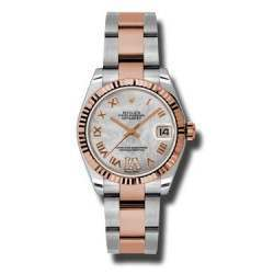 Rolex Lady Datejust 31mm White mop Roman Oyster 178271