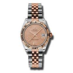 Rolex Lady Datejust 31mm Pink/Arab 6 Jubilee 178271