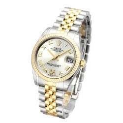 Rolex Lady Datejust 31mm Silver Roman Jubilee 178273