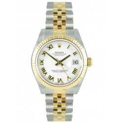 Rolex Lady Datejust 31mm White Roman Jubilee 178273