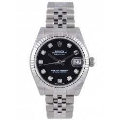 Rolex Lady Datejust 31mm Black/diamond Jubilee 178274
