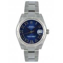 Rolex Lady Datejust 31mm Blue Roman Oyster 178274
