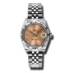 Rolex Lady Datejust 31mm Pink Roman Jubilee 178274