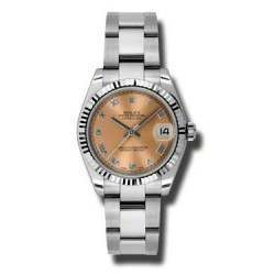 Rolex Lady Datejust 31mm Pink Roman Oyster 178274