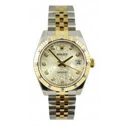 Rolex Datejust 31mm Steel&Yellow Gold Champagne /DMD Jubilee 178313