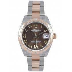 Rolex Lady Datejust 31mm Chocolate Roman Oyster 178341