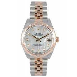 Rolex Lady Datejust 31mm White mop/diamond Jubilee 178341