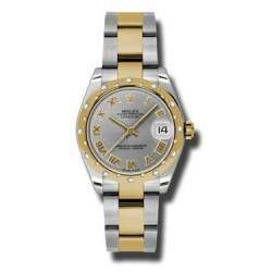 Rolex Lady Datejust 31mm Steel Roman Oyster 178343