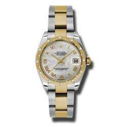 Rolex Lady Datejust 31mm White mop Roman Oyster 178343