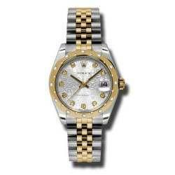 Rolex Lady Datejust 31mm Silver Jub/diamond Jubilee 178343