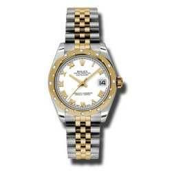 Rolex Lady Datejust 31mm White Roman Jubilee 178343