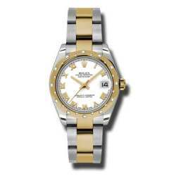 Rolex Lady Datejust 31mm White Roman Oyster 178343