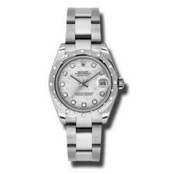 Rolex Lady Datejust 31mm Meteorite/diamond Oyster 178344
