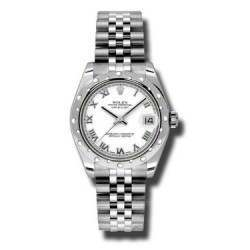 Rolex Lady Datejust 31mm White Roman Jubilee 178344