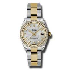 Rolex Lady Datejust 31mm White mop/diamond Oyster 178383