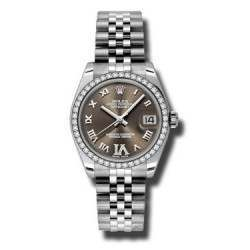 Rolex Lady Datejust 31mm Bronze Roman Jubilee 178384