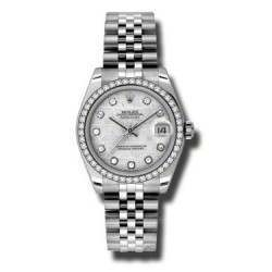 Rolex Lady Datejust 31mm Meteorite/diamond Jubilee 178384