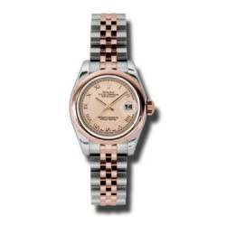 Rolex Lady-Datejust Pink Roman Jubilee 179161