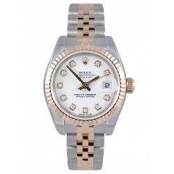 Rolex Lady-Datejust White/Diamond Jubilee 179171