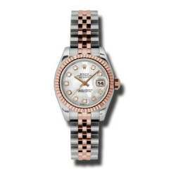 Rolex Lady-Datejust White mop/Diamond Jubilee 179171