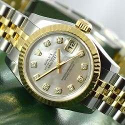 Rolex Lady DateJust Diamond MOP Dial - 179173