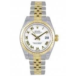 Rolex Lady-Datejust White Roman Jubilee 179173