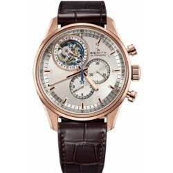 Zenith Tourbillon Chrono. With date 18.2050.4035/01.C713