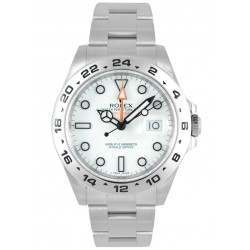 As New Rolex Explorer II White Dial 216570