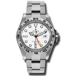 As New Rolex Explorer II White Dial 216570 - Feb 2015 Watch