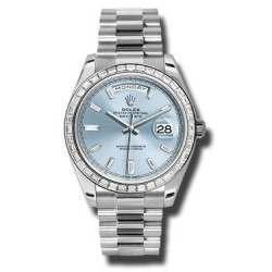 Rolex Day Date Platinum 228396TBR Basel 2015