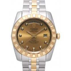 Tudor Classic Day-Date 41mm Champagne Dial 23013