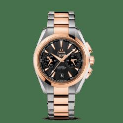 Omega Seamaster Aqua Terra 150 M Omega Co-Axial GMT Chronograph 43m