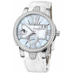 Ulysee Nardin Executive Dual Time Lady 243-10B/393