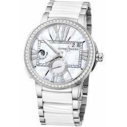 Ulysee Nardin Executive Dual Time Lady 243-10B-7/391