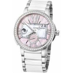 Ulysee Nardin Executive Dual Time Lady 243-10B-7/397