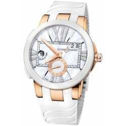 Ulysee Nardin Executive Dual Time Lady 246-10-3/391