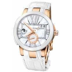 Ulysee Nardin Executive Dual Time Lady 246-10/391